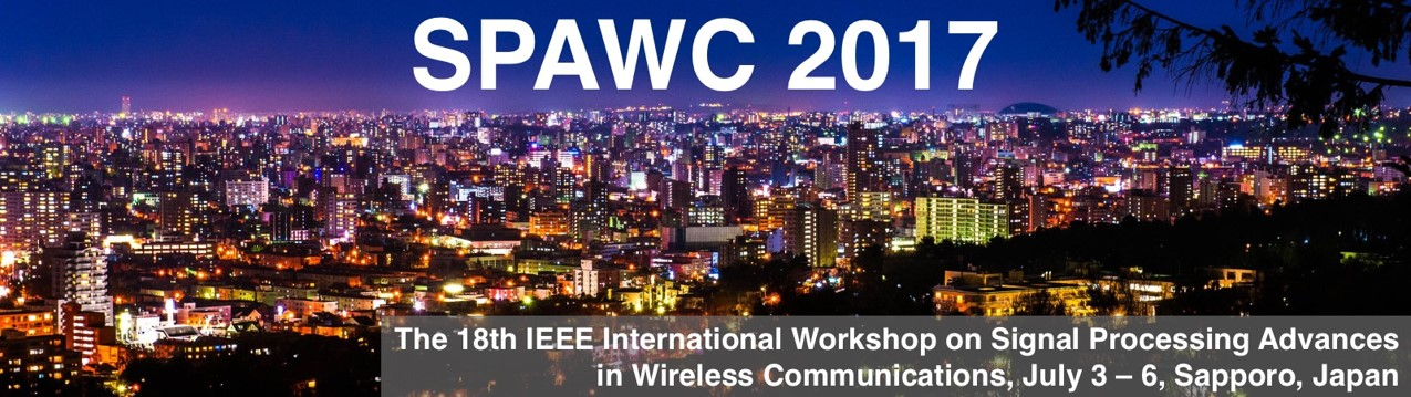 Prof. Sakaguchi did a presentation  in IEEE SPAWC 2017