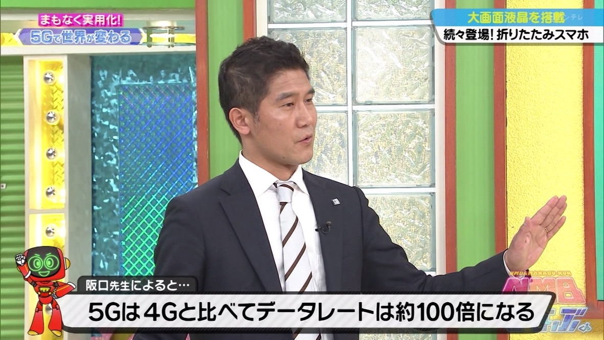 Coming soon! 5G will change the world! – Prof. Sakaguchi explains 5G in a TV show